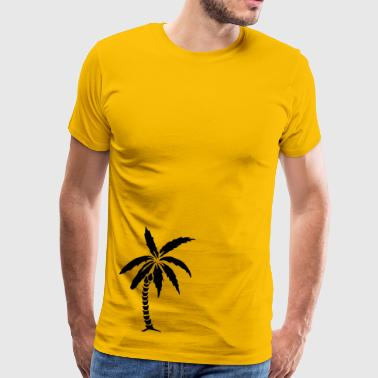 Palm Tree - Summer - Premium T-skjorte for menn