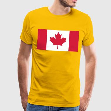 canada flag - Men's Premium T-Shirt
