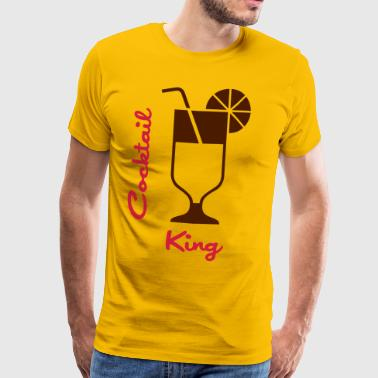 Cocktail King - Mannen Premium T-shirt