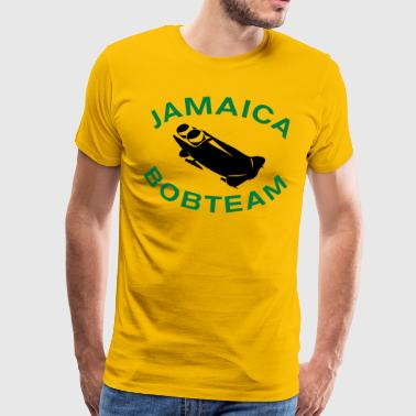 Jamaica Bobsled Team - Premium-T-shirt herr