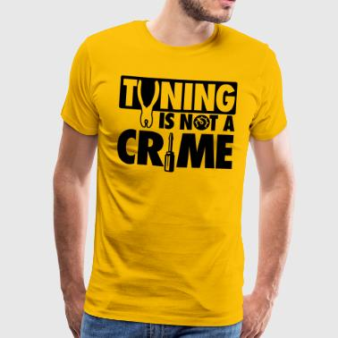 Tuning is not a crime - Maglietta Premium da uomo