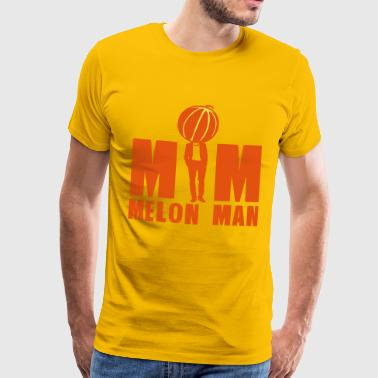 melon man homme costume cravate 21612 - T-shirt Premium Homme