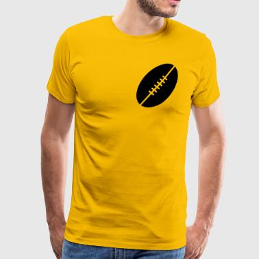 Football - Premium T-skjorte for menn