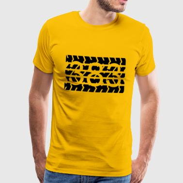 383 BIG BLOCK - Männer Premium T-Shirt