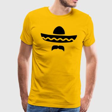 Sombrero Mexiko - Men's Premium T-Shirt