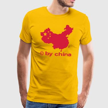 copy by china - Mannen Premium T-shirt