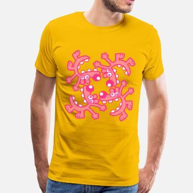 Cercle  A circle of Laughs by Cheerful Madness!! - Men's Premium T-Shirt