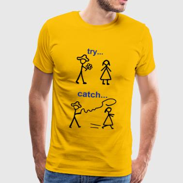 Java Try Catch Code - Men's Premium T-Shirt