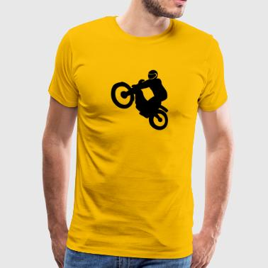 Trials bike - Men's Premium T-Shirt