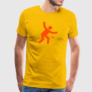 Arrow to the knee - Mannen Premium T-shirt