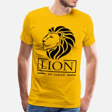 Lion of Judah - Rastafari - Männer Premium T-Shirt