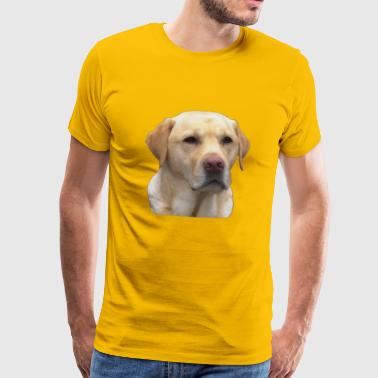 Yellow Lab - Men's Premium T-Shirt