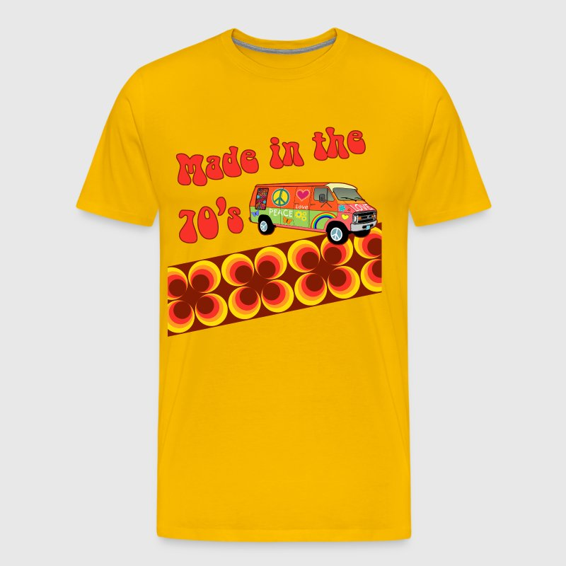 made in the 70s - Premium T-skjorte for menn