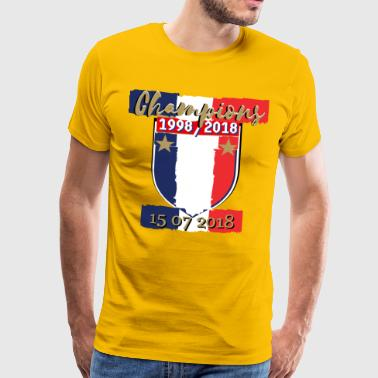 Mulhouse france foot coupe du monde football - T-shirt Premium Homme