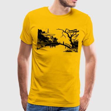 The River Exon - Men's Premium T-Shirt