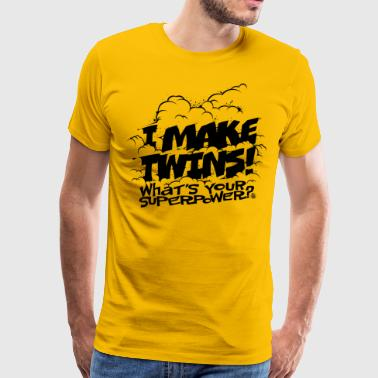 I make twins - T-shirt Premium Homme