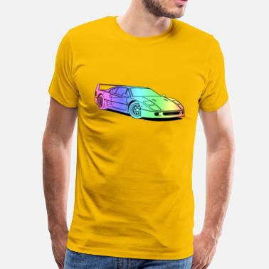 Colourful f40 colourful - Mannen Premium T-shirt