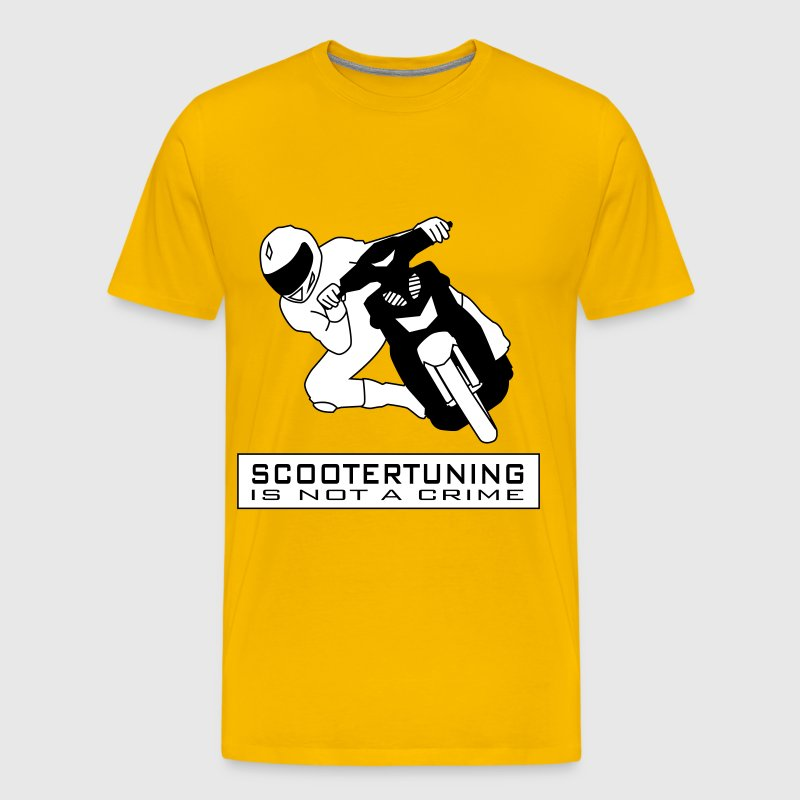 Scootertuning is not a crime HQ - Men's Premium T-Shirt
