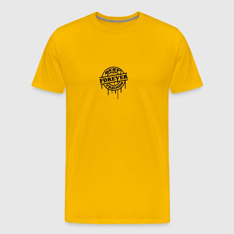 Best Friends Forever Stempel Graffiti - Männer Premium T-Shirt