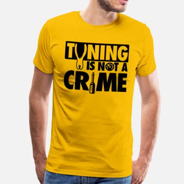 Crime Tuning is not a crime - Mannen Premium T-shirt