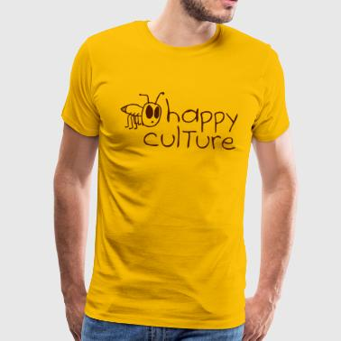 happy culture - T-shirt Premium Homme
