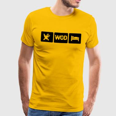 Fran Eat WOD Sleep - Crossfit - Männer Premium T-Shirt