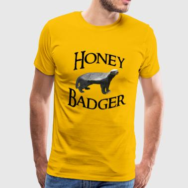 Badger Honey Badger - Men's Premium T-Shirt