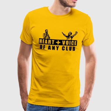 Heart and Voice - Männer Premium T-Shirt
