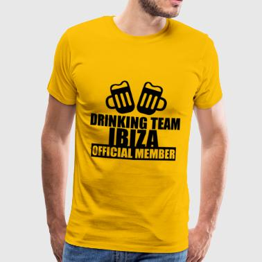 Drinking Team Ibiza - Men's Premium T-Shirt
