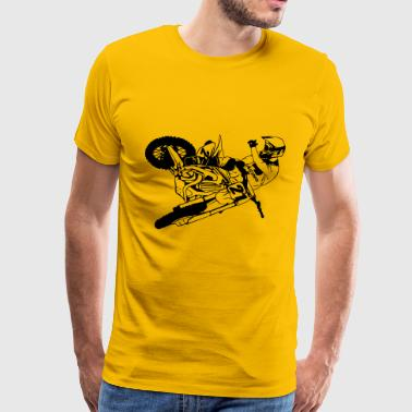 Moto Cross - motocross - Men's Premium T-Shirt