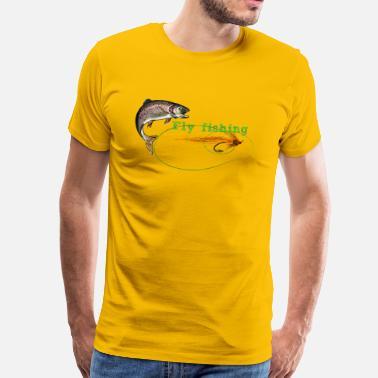 Fly Fishing fly fishing - Men's Premium T-Shirt