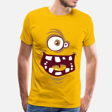 Funny Face Funny face flex - Men's Premium T-Shirt