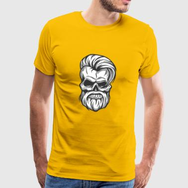 Furious Skull - Men's Premium T-Shirt