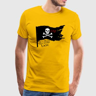 Modern Pirates, for parties - Men's Premium T-Shirt
