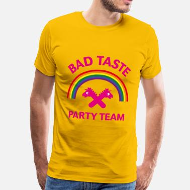 Bad Taste Party Bad Taste Party Team (Unicorn / Rainbow) - Men's Premium T-Shirt