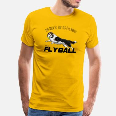 Flyball Flyball 1 black - Men's Premium T-Shirt