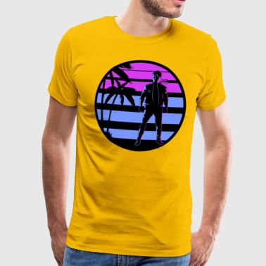 miami kung fu - Men's Premium T-Shirt