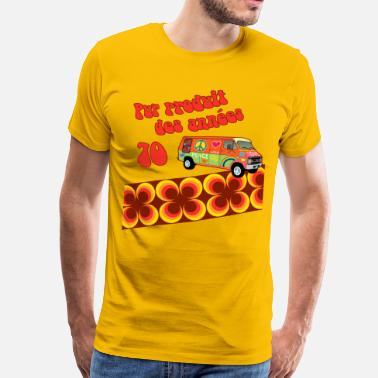 Retro 70s produit 70 - Men's Premium T-Shirt
