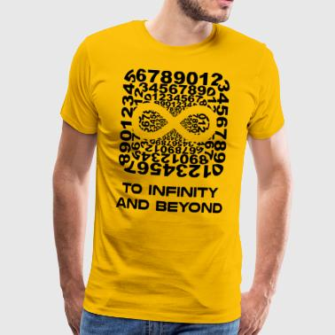 Infinite infinitybeyond blak - Men's Premium T-Shirt