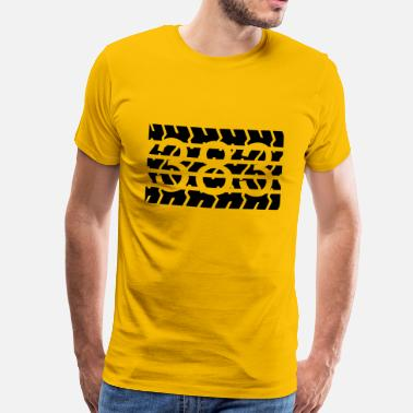 Cui Cui 383 BIG BLOCK - Men's Premium T-Shirt