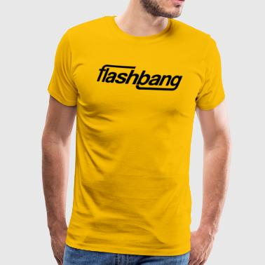 Flash Bang Single - 50kr Donation - Premium T-skjorte for menn