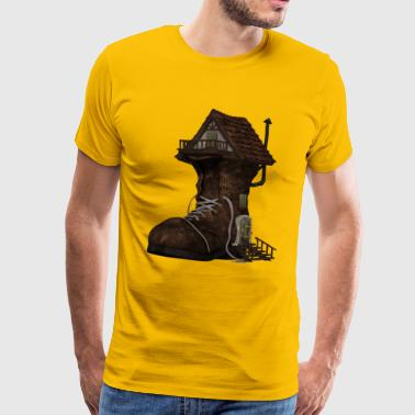 Boot House - Herre premium T-shirt