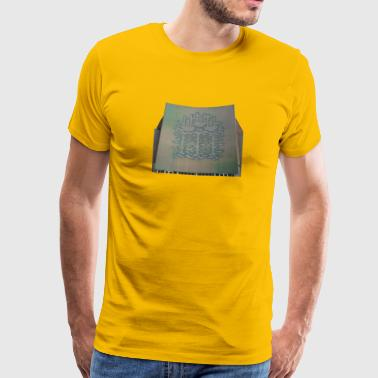 Three Ships mural, Hull - Men's Premium T-Shirt