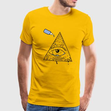 All Seeing Eye - T-shirt Premium Homme