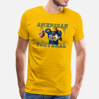 American football - Premium-T-shirt herr