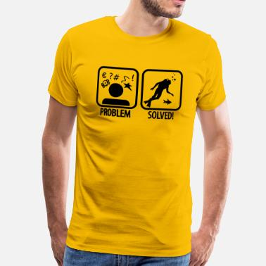 Diving Diving: Problem - Solved! - T-shirt Premium Homme