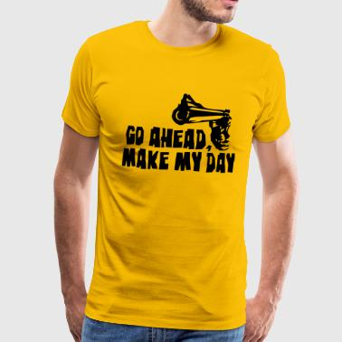 Clint Eastwood make_my_day_2 - Men's Premium T-Shirt