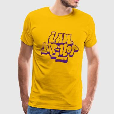 I m hip hop - Men's Premium T-Shirt