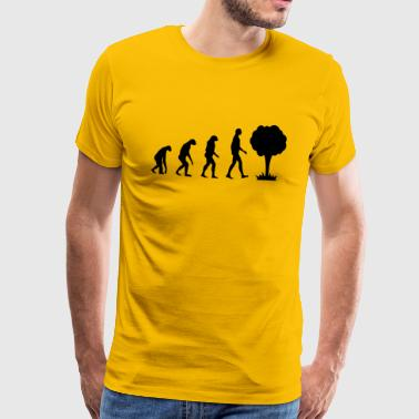 Evolution Atom - Premium-T-shirt herr