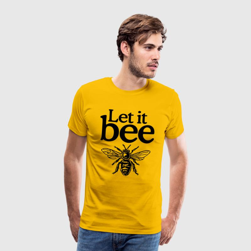 Let it bee - Männer Premium T-Shirt
